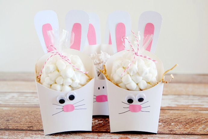 17 of the coolest bunny crafts for Easter we can't resist. Oh, the kids too, of course.