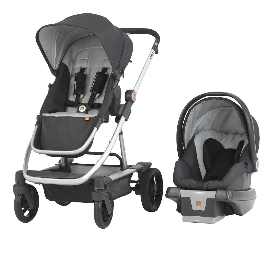 GB Evoq Stroller and Car Seat