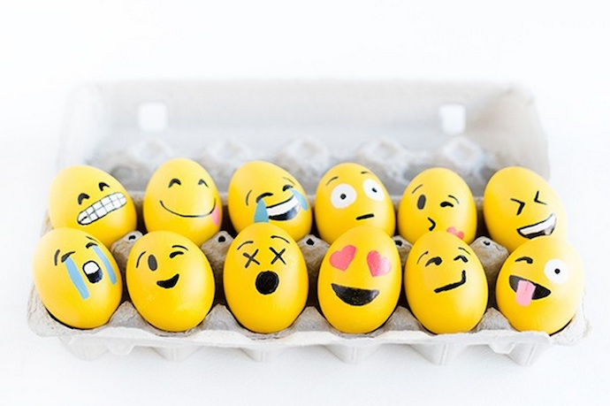 We Are All Grinning Face About These Cute DIY Emoji Easter Eggs