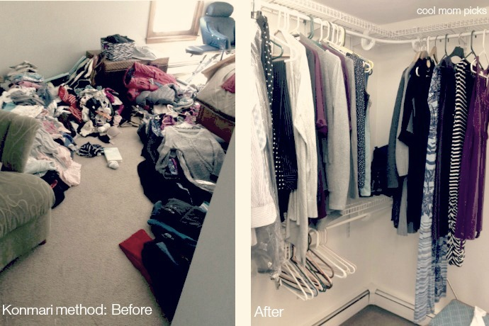 Konmari method put to the test: Before and after