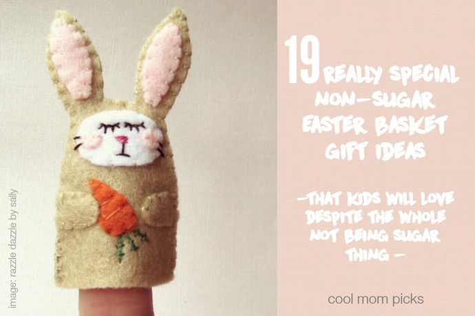 19 very (very) special non-candy Easter basket gifts kids will love.