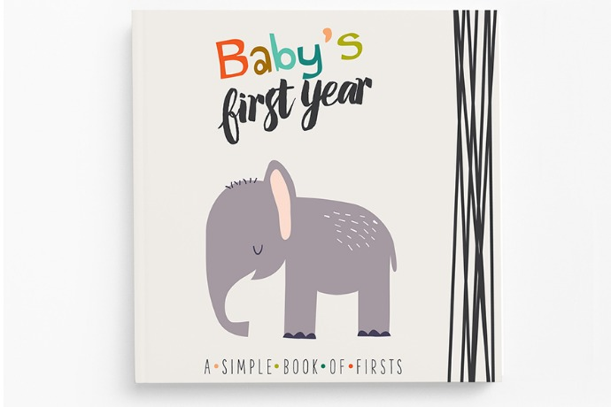 New baby memory books for parents who find other baby books a little too traditional.