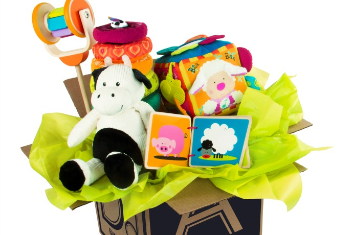 Please and Carrots – a baby toy subscription box that's all about developmental milestones.