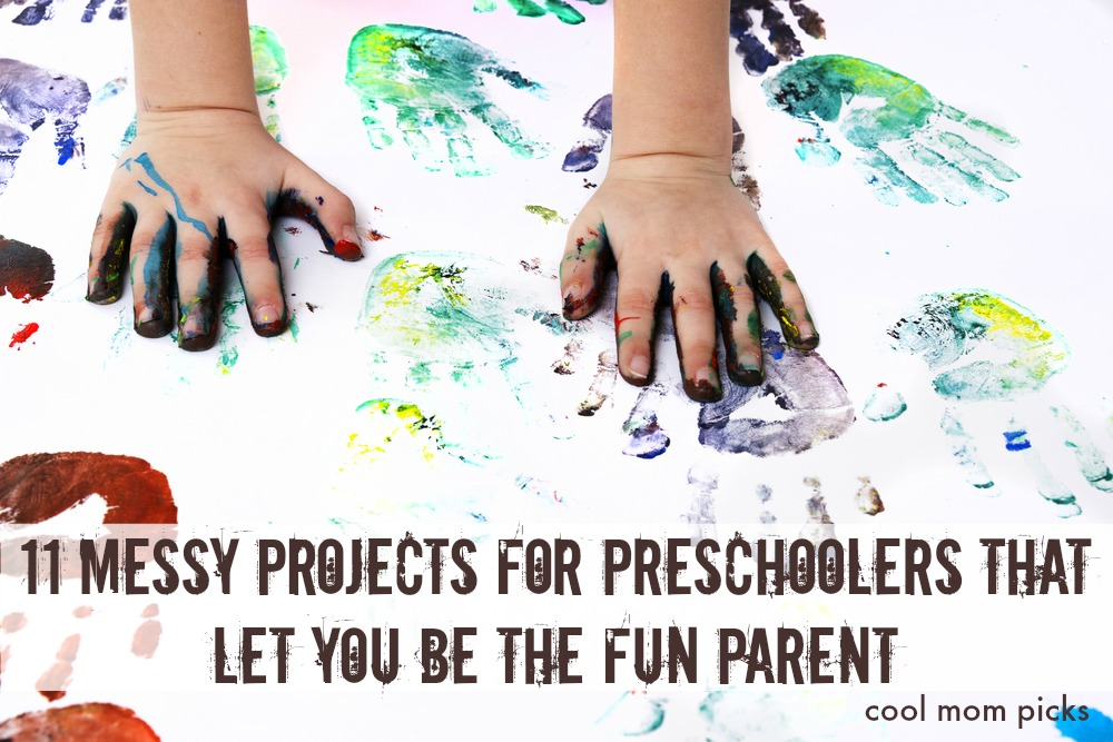 11 messy projects for preschoolers that let you be The Fun Parent