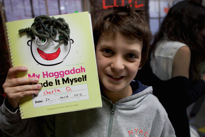 The most fun printable Haggadah for kids we've ever seen