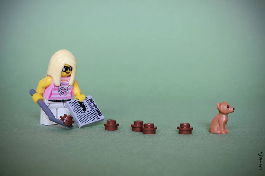 Web coolness: The minifig invasion, parents on phones in playgrounds, and the amazing tale of Princess Kitty