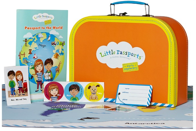 Little Passports' new gift subscription now lets younger kids get in on the world travel adventures too.