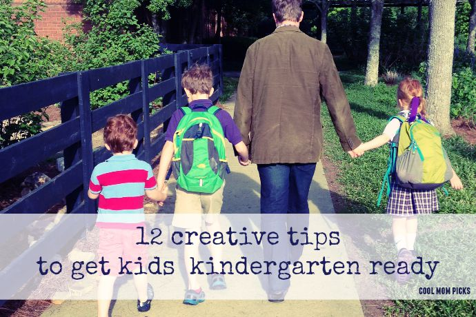 12 creative tips for getting your kids ready for kindergarten. Because, kindergarten! Also, pass the tissues.