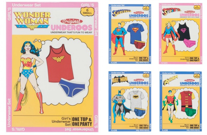 Superhero gifts for kids: Underoos