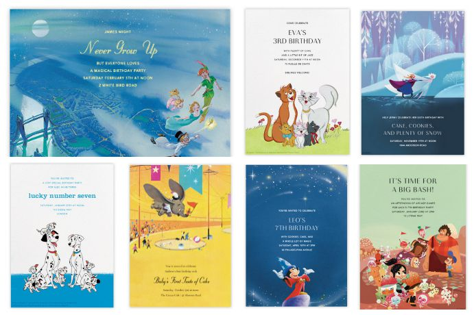 paperless post s new disney party invitations cool mom picks