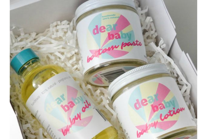 A lovely new line of natural baby and pregnancy skincare: Dear Baby