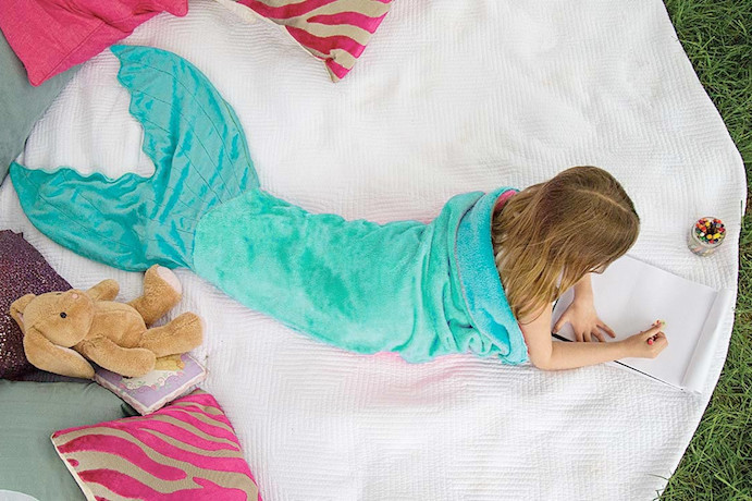 How to turn your kid into a mermaid without surgery