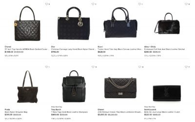A thorough comparison of the 6 top online consignment and resale shops: Who will give you the most for that NWT handbag?