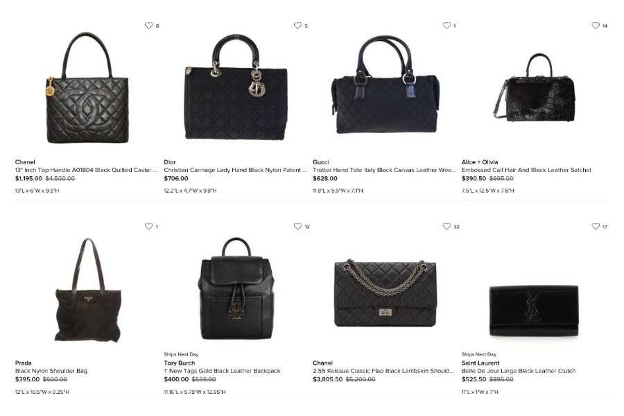 cd0c022a67f7 A thorough comparison of the 6 top online consignment and resale shops: Who  will give you the most for that NWT handbag?