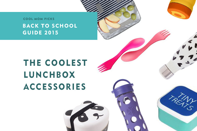 The coolest lunch box accessories, water bottles, and other goodies to make school lunch more fun | Back to school guide 2015