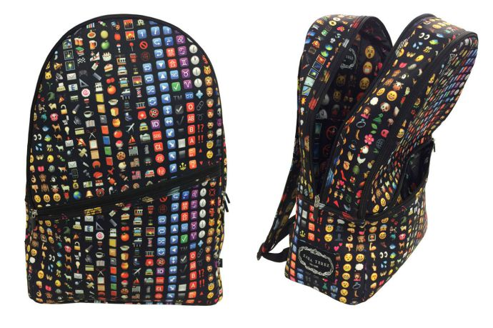 Emoji backpacks! Your kids want one, trust us.