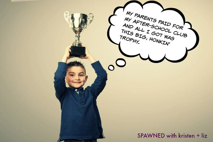 Should every kid get a trophy?