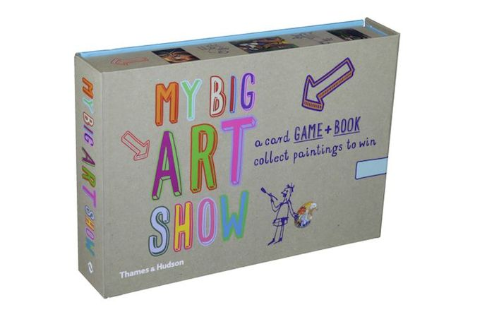 My Big Art Show: the fun family card game that might turn your kids into art history whizzes.