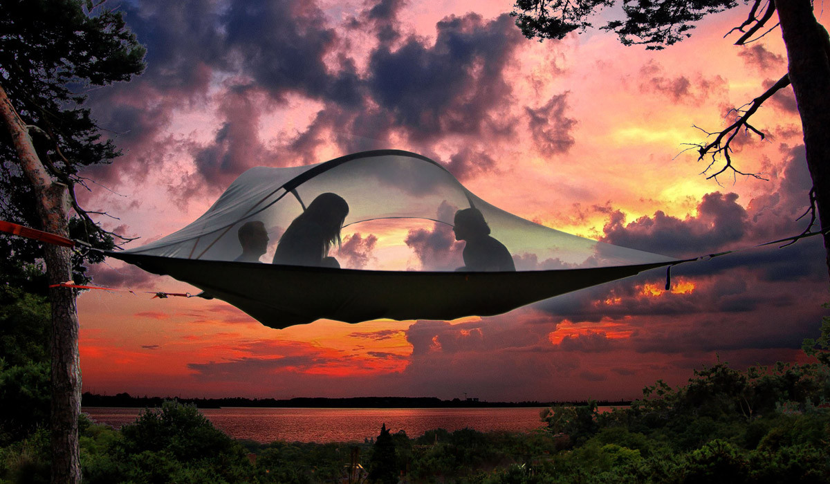 Tentsile tents may be the coolest tents ever. If you're okay with heights.