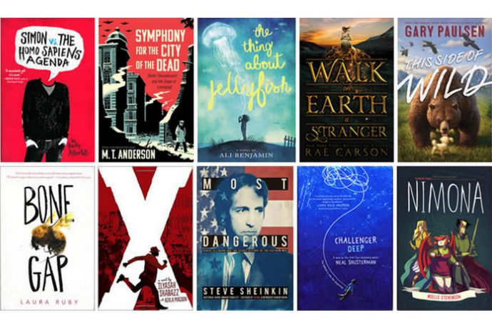 2015 National Book Awards: The 10 longlist finalists for Young People's Literature