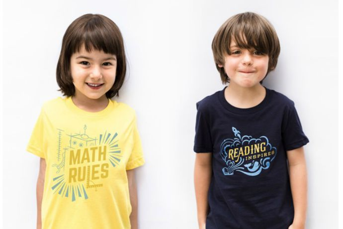 Smart tees for kids that will make teachers happy in more ways than one