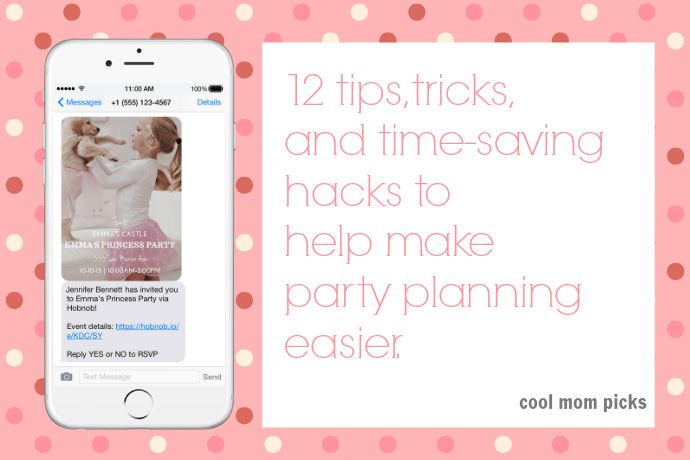 12 easy party planning tips, tricks and time-saving hacks. Because oof, party planning.