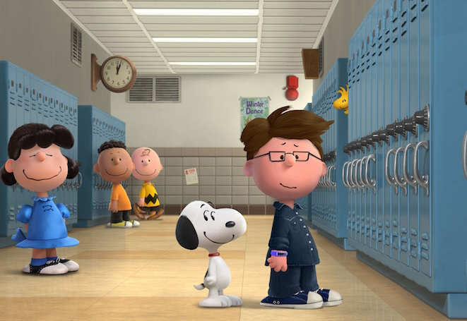 Peanutize yourself! Then be best friends with Lucy and Snoopy like you always wanted to.
