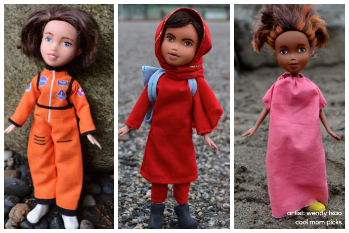 An artist transforms Bratz dolls into real female role models and the results are amazing.