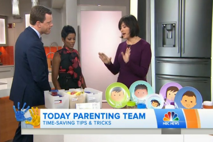 5 brilliant hacks for easier mornings with kids, from a mom of 4 who knows what she's talking about.