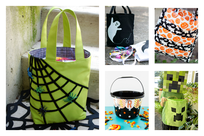 9 Easy Cool Diy Halloween Treat Bags For Kids Cool Mom Picks