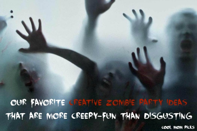10 creative Zombie party ideas that are more creepy-fun than outright disgusting.