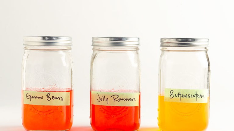 What to do with leftover Halloween candy: Halloween booze at Bon Appetite by Matt Duckor