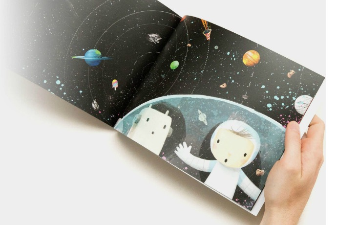 The Incredible Intergalatic Journey Home: A new personalized book that's out of this world