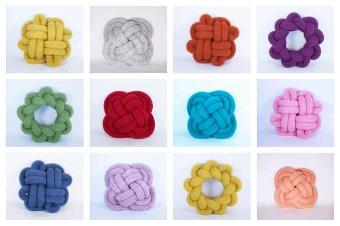 The Originals: KnotNot knot pillows by Umemi