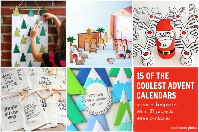 15 of the coolest Advent calendars to make waiting for Christmas more fun.