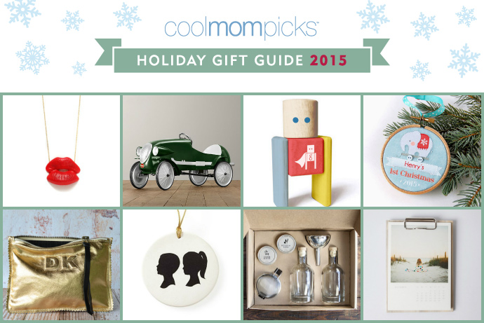 It's here! Our 2015 Cool Mom Picks holiday gift guide! Whoo!