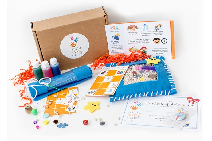 Little Loving Hands reimagines monthly craft kits for kids in the most amazing way