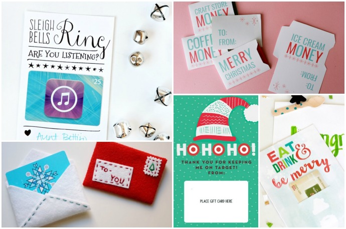 graphic regarding Printable Gift Card Holders named 10 Do it yourself + printable reward card holder Plans that produce presents