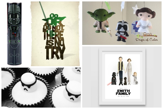 The Ultimate Star Wars Guide: Dozens of geeky gifts, party ideas, DIY projects, recipes, and random Force-inspired insanity.
