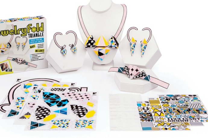 4 fun paper jewelry kits for kids that make great holiday gifts