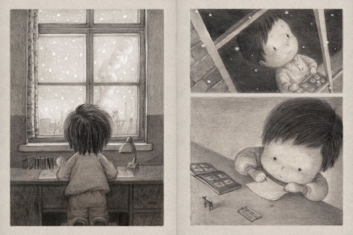 The Only Child by Guojing: A beautiful new wordless book your child will love, whether they have siblings or not