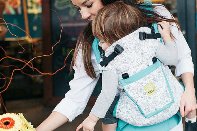 The adult coloring book trend comes to baby carriers