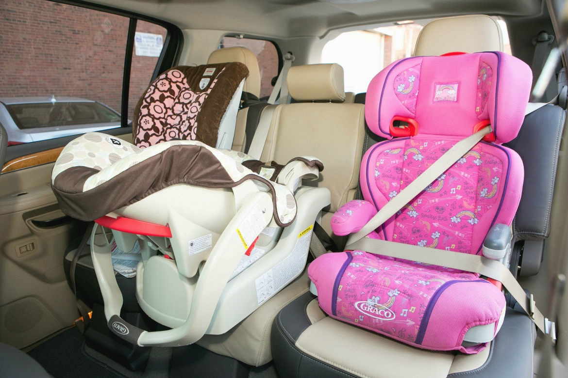 8 cars for big families that fit 3 car seats in the 2nd row