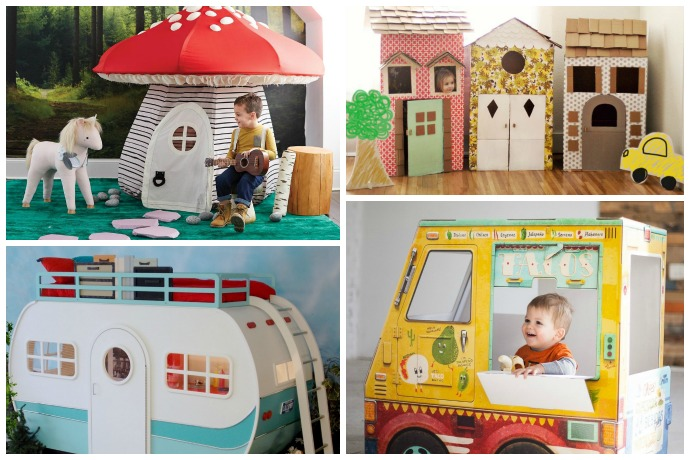15 of the coolest indoor playhouses for kids, from DIY to a few splurges