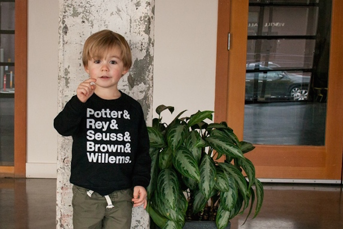 Small Apparel: Cool little tees that give back in a big way