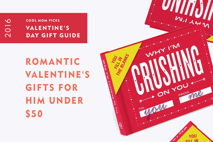 Romantic Valentine\'s Day gifts for men under $50