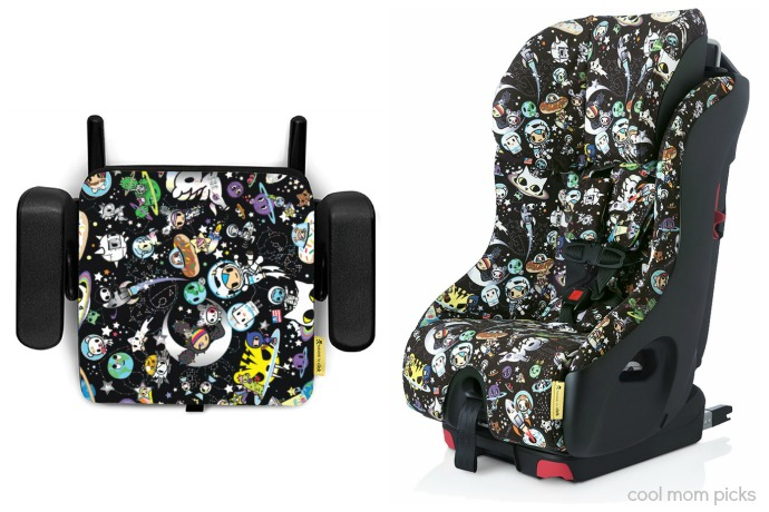 Tokidoki and Clek collaborate for some out-of-this-world car seats