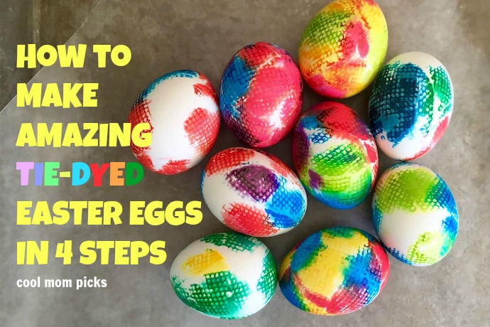 How to make the most awesome tie-dye Easter eggs: A tutorial in 4 easy steps