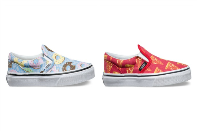 Vans shoes, even customizable for your budding fashion designer
