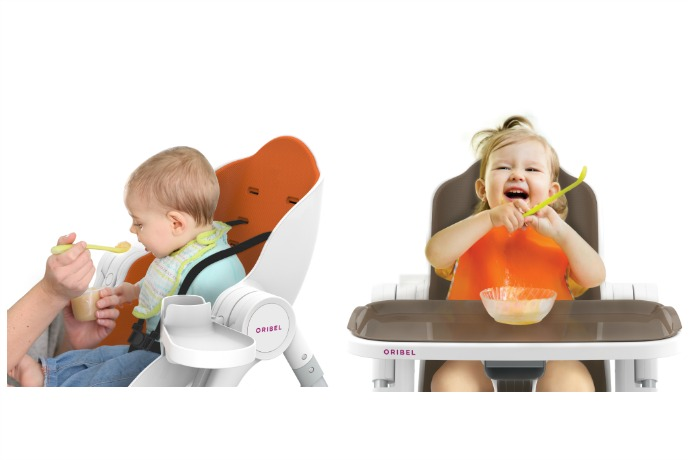 The new Cocoon multi-stage high chair keeps up with your growing child.